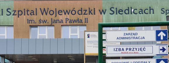 Raport ze szpitala wojewódzkiego