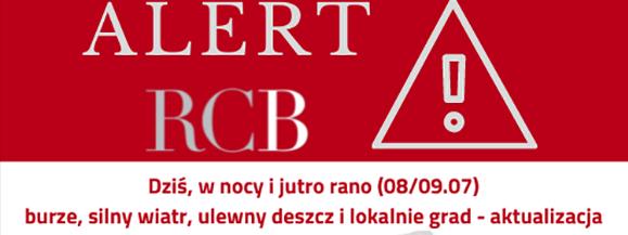 Uwaga na burze w nocy z wtorku (28.07) na środę (29.07). IMGW wydał ostrzeżenie dla mazowsza