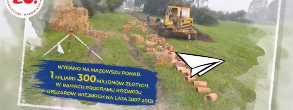 """""""PRO(W)ste historie – 15 lat województwa mazowieckiego w Unii Europejskiej"""" (1 miliard 300 milionów)"""