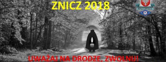 """OD ŚRODY POLICYJNA AKCJA """"ZNICZ 2018"""""""