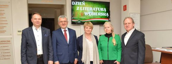 Dzień z literaturą węgierską w Siedleckiej Książnicy