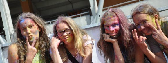 Święto kolorów w Siedlcach (zdjęcia)
