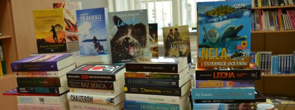 73 000 zł na zakup książek dla siedleckiej Książnicy