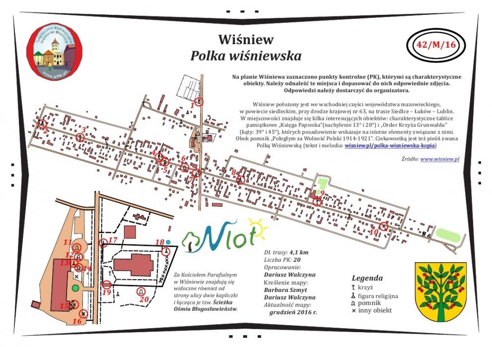 Tuba Siedlec Gmina Wiśniew W Sieci Turystyczno