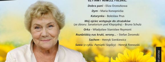 Narodowe Czytanie z Teresą Lipowską