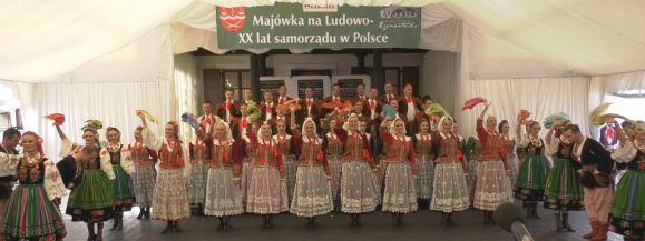 """XX Majówka w Rejmontówce z zespołem """"Śląsk"""""""