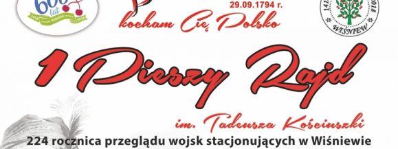 I Pieszy Rajd im. Tadeusza Kościuszki