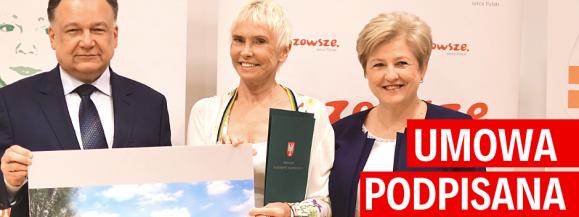 """Marszałek podpisał umowę z Fundacją """"Akogo?"""" – Klinika """"Budzik"""" dla dorosłych powstanie przy szpitalu bródnowskim"""