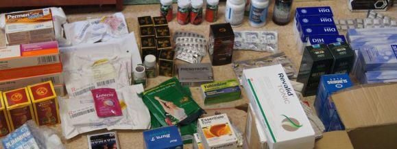Policjanci przejęli podejrzane medykamenty na potencję i odchudzanie