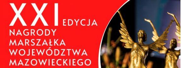 Nagroda Marszałka Województwa Mazowieckiego. Kandydatów można zgłaszać do 18 września