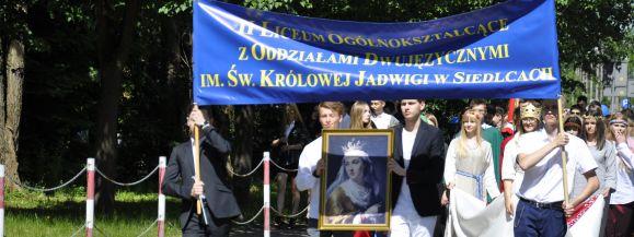 Licealiści z Królówki obchodzili Dzień Patrona (zdjęcia)