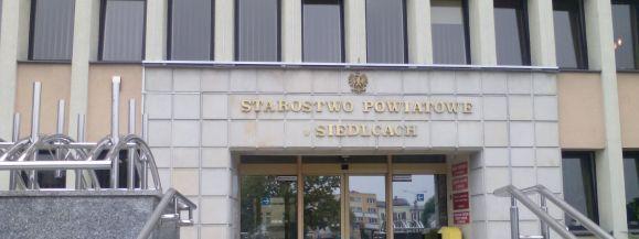 Powiat siedlecki uzyskuje dofinansowanie na dwa projekty