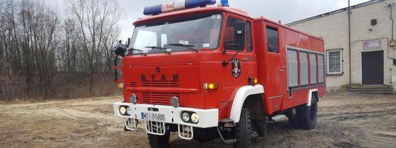 Informacja o sprzedaży samochodu strażackiego
