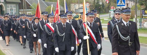 OSP w Dąbrówce Stany świętowała 100  rocznicę powstania (fotogaleria)