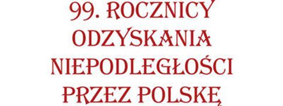 Obchody 99. rocznicy Odzyskania Niepodległości przez Polskę w Wiśniewie