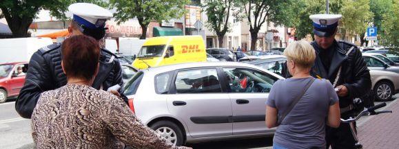 """Akcja """"Przepisowy rowerzysta"""" w Siedlcach"""