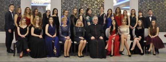Studniówka 2019 w Liceum Katolickim w Siedlcach (zdjęcia)