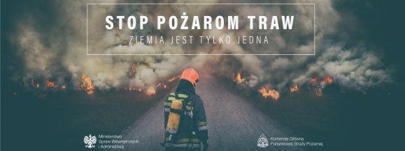 #Stop pożarom traw