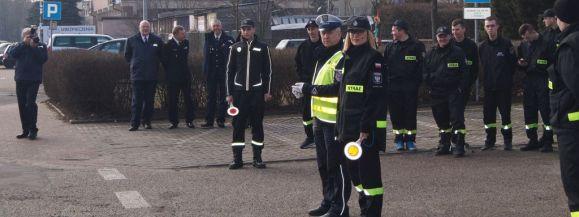 Policjanci szkolili strażaków
