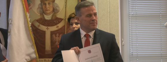 Andrzej Sitnik oficjalnie prezydentem Siedlec (film)