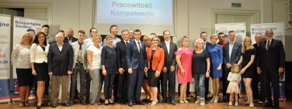 Bezparyjne Siedlce zaprezentowały kandydatów do Rady Miasta