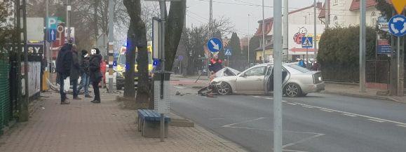 Kierowca miał ponad 1,5 promila alkoholu! Został zatrzymany przez Policjantów.