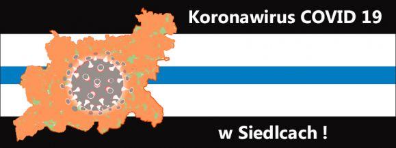 Bieżące informacje w liczbach na temat koronawirusa w Siedlcach.