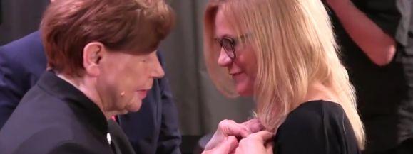 Joanna Woszczyńska nagrodzona Srebrnym Krzyżem Zasługi