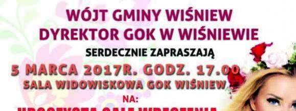 "VI Edycja Konkursu ""Kobieta Roku"""