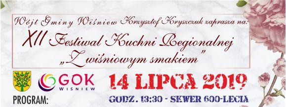XII Festiwal Kuchni Regionalnej w Wiśniewie