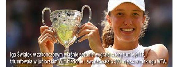 Zwyciężczyni Wimbledonu i Roland Garos w Siedlcach