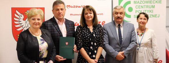 Mazowsze wspiera Miasto Siedlce w inwestycji przebudowy ul. Poniatowskiego
