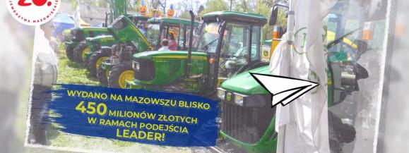 """""""PRO(W)ste historie – 15 lat województwa mazowieckiego w Unii Europejskiej"""" (LEADER)"""