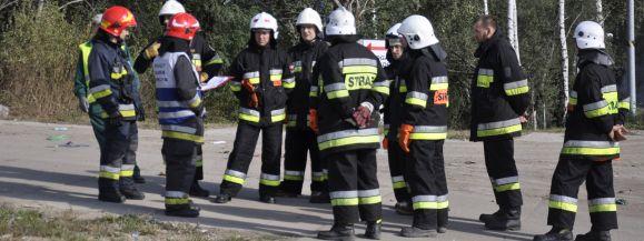 Strażacy sprawdzili się na wyspisku (foto)