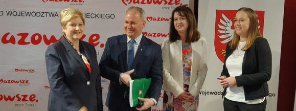 Gmina Wiśniew dalej się rozwija. Dofinansowanie z Mazowsza