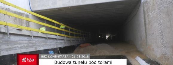Bez komentarza - Budowa tunelu i wiaduktu nad ul. Partyzantów (film)