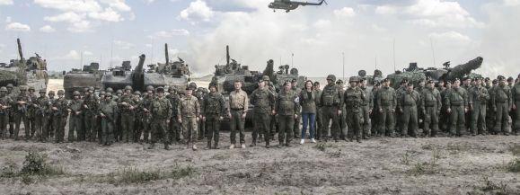 Prezydent RP na zakończeniu ćwiczenia DRAGON-21