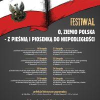 """Festiwal pieśni i piosenki """"O, Ziemio Polska"""""""