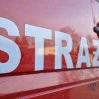Wypadek na rondzie ul Warszawskiej/Monte Casino