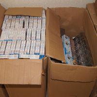W garażu ujawniono skład papierosów i tytoniu o wartości prawie 900 tys!