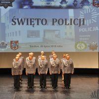 Święto Policji w Siedlcach. Awanse dla policjantów (zdjęcia)