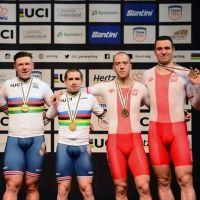 Siedlczanin kolarz Adam Brzozowski zdobył brązowy medal mistrzostw świat