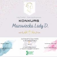 Mazowiecka Lady D. 2020 – ruszyła kolejna edycja konkursu