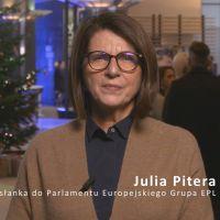 Życzenia Świąteczne od Julii Pitera