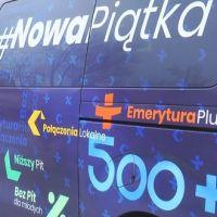 """Bus """"Nowa piątka"""" w Wiśniewie"""