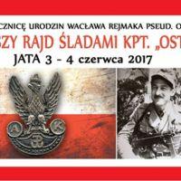 """II Pieszy Rajd Śladami kpt. """"Ostoi"""""""