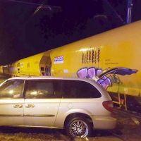 Wypadek na przejeździe kolejowym w Radomyśli