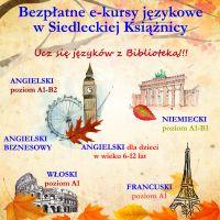 Ucz się języków z Biblioteką !!!