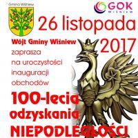 Inauguracja obchodów 100-lecia odzyskania przez Polskę Niepodległości.