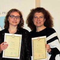 Sukces uczennicy Publicznego Gimnazjum nr 2 w Siedlcach